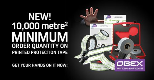NEW Minimum Order Quantity on Printed Protection Tape