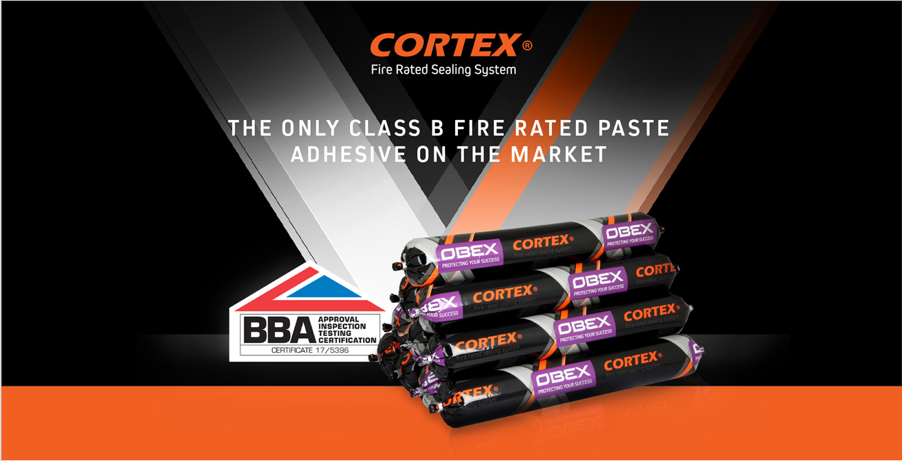 CORTEX 0771FR B-S1-D0 (EN 13501-1) FIRE RATED PASTE ADHESIVE