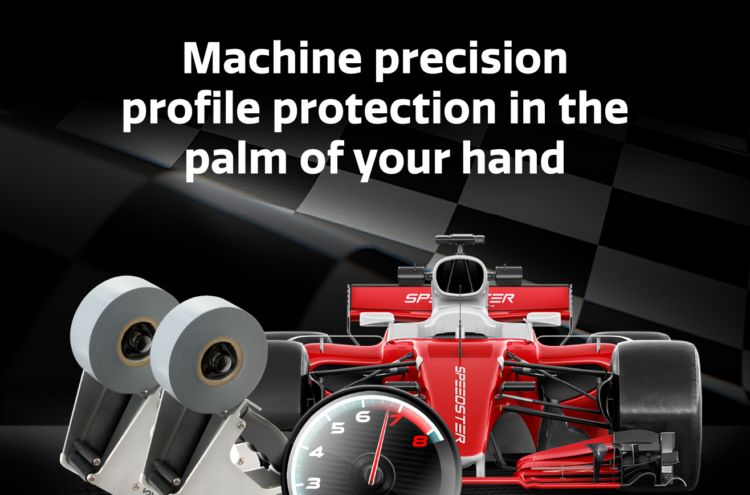 Speedster Machine precision profile protection in the palm of your hand.